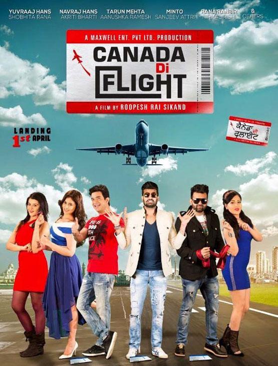 Canada Di Flight (2016) Punjabi Movie 480p HDRip ESubs 400MB